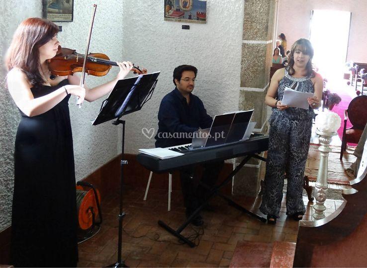 Piano, Violino & Soprano