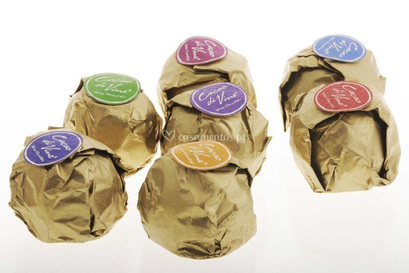 Chocolates de casamento