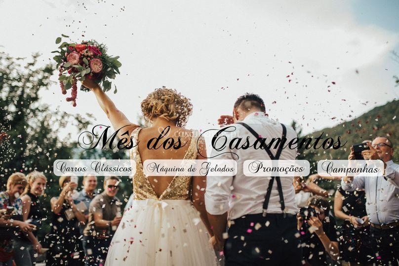 Mês dos casamentos e do amor
