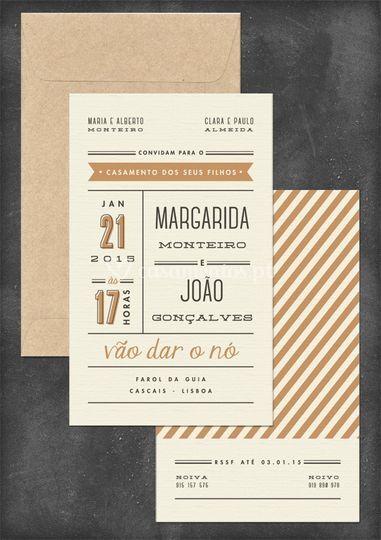 Convite M&J