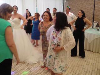 Dança Macarena e brincadeiras