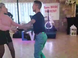 Dança de abertura de pista