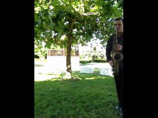 Saxofone acompanhado de audio - PaivaSom Produção de Eventos