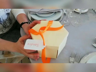 Caixa para surpresa