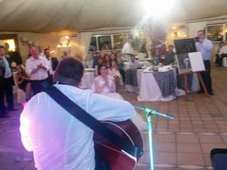 Serenata do noivo para a noiva!