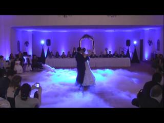 Abertura de baile casamento fumo seco