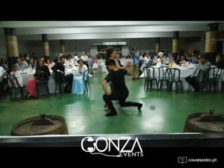 Exibição de dança latina - Gonza Events