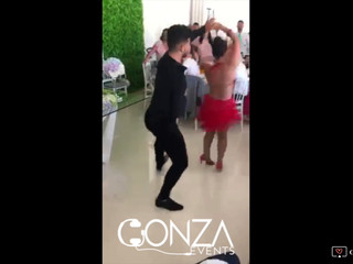 Exibição de dança Gonza Events