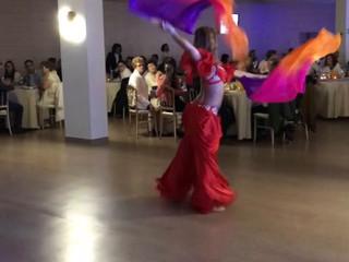 Exibição de dança oriental - Gonza Events
