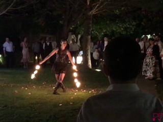 Espectáculo de fogo