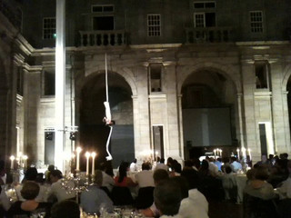 Dança aerea para casamentos