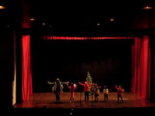 A festa de natal das fadas da floresta
