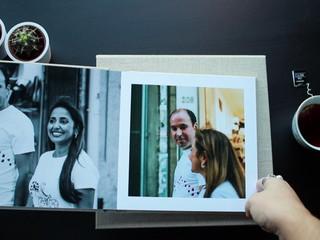 Exemplo de álbum digital 20x20cm