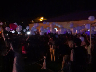 Cerimonia bolo balões 2015 1