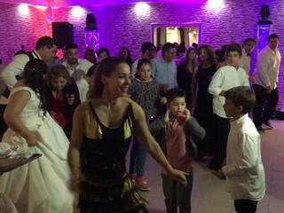 Danças coreografadas com Animadores