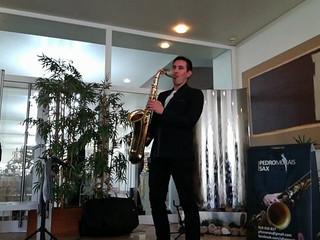 Pedro morais sax - sky full of stars acoustic