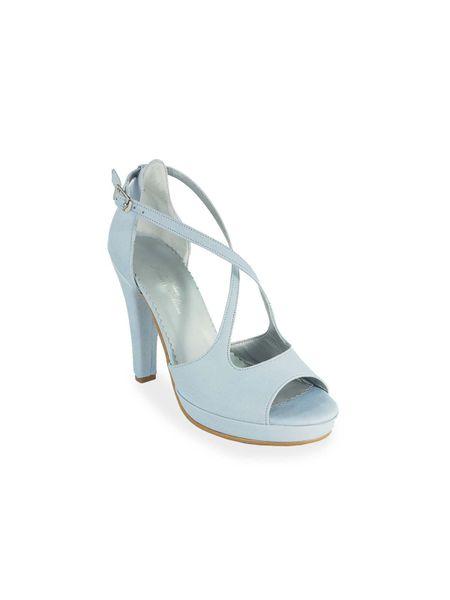 50 Sapatos azuis para deslumbrares no teu look de noiva