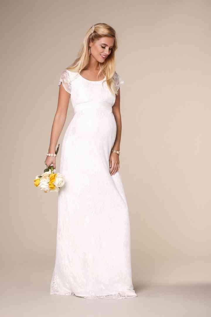 Vestidos de noivas para grávidas | Vestido de noiva grávida