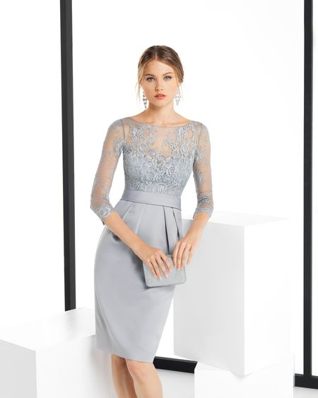 Vestidos Midi Sereia Convidada De Casamento Mãe Da Noiva