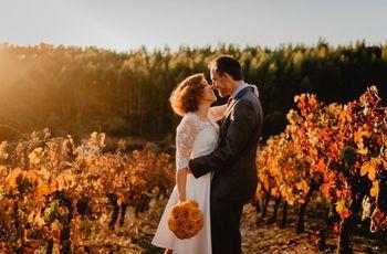Inspiração para um casamento de Outono