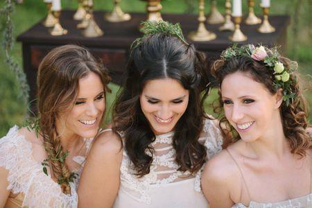 3 Tipos de penteados para noivas de cabelo comprido