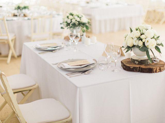 Decoração minimalista para o casamento