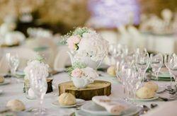 10 estilos de centros de mesa com flores