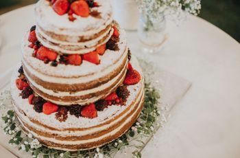 6 tipos de naked cake para o vosso casamento
