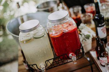 Casamento rústico: 4 formas de organizar as bebidas