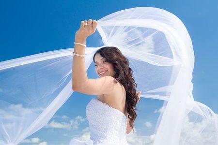 6 razões para levares véu no teu casamento