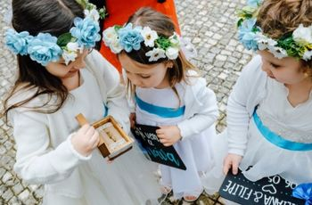 Ideias para incluir as crianças no casamento