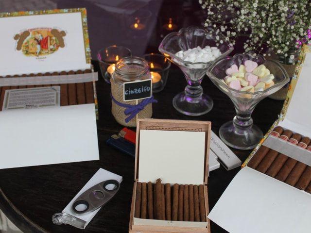 Põe um cigar corner no teu casamento