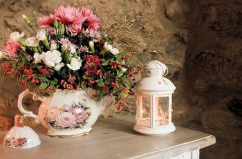 Decoração romântica em tons pastel
