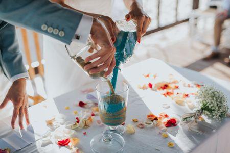 A cerimónia da areia: tudo o que precisas de saber
