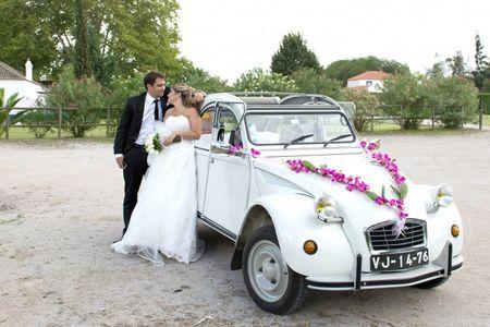 4 opções para o transporte do teu casamento