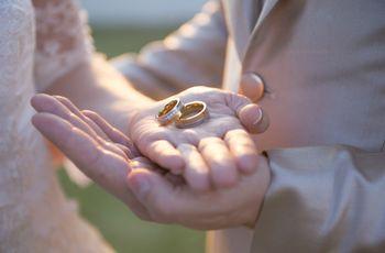 Por que usamos o anel de noivado na mão esquerda?