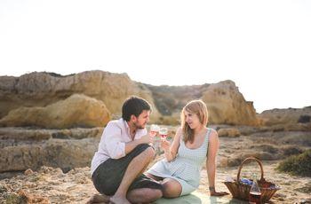 6 ideias para uma sessão de noivos casual