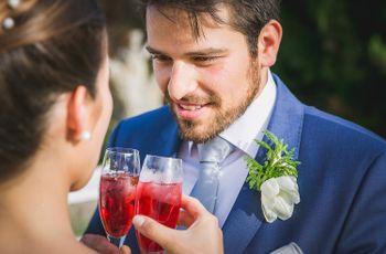 Já escolheram o cocktail para o vosso primeiro brinde?
