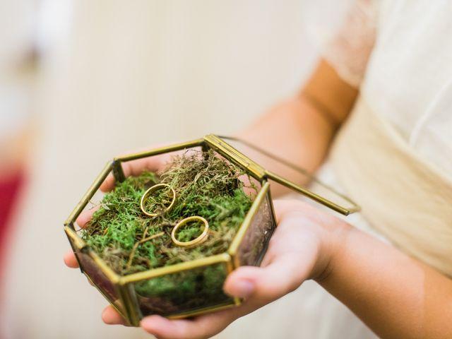 8 porta alianças rústicos para casamentos na Primavera