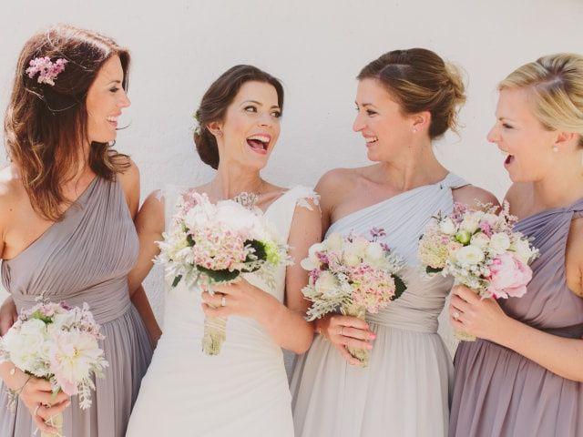 Conselhos para escolher os vestidos das damas de honor