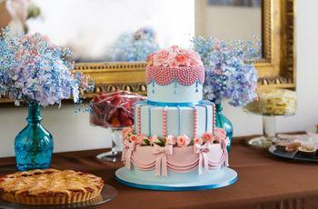 Casamento rosa e azul pastel: um toque vintage e romântico