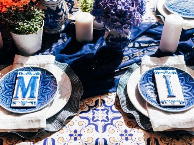 Azulejos: uma inspiração elegante para o vosso casamento