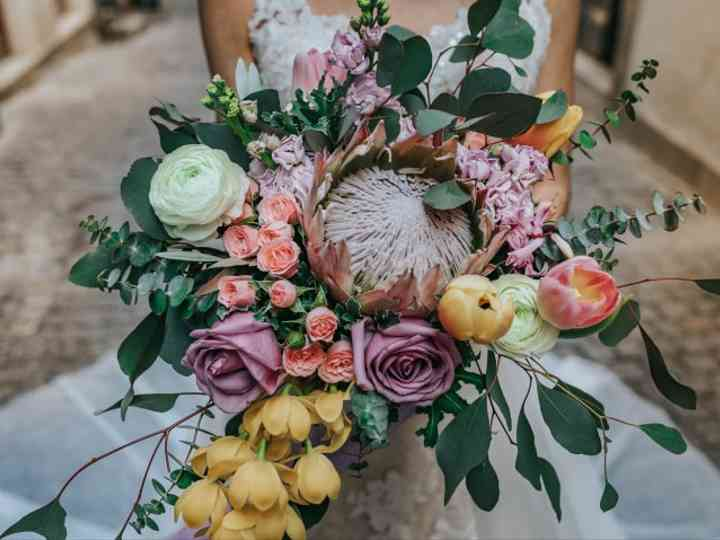 Bouquets XL: o acessório predileto das noivas arrojadas