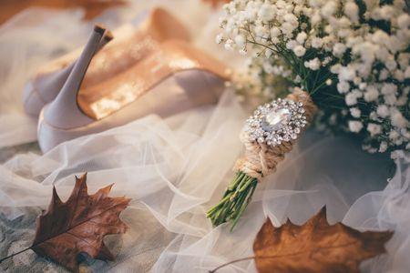 20 ramos de noiva inspirados no outono