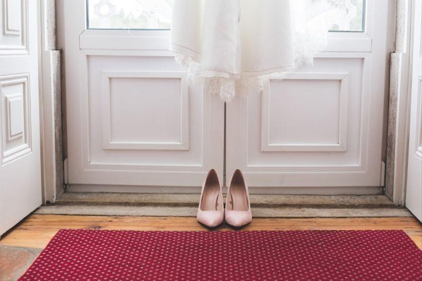 Sapatos azul dusty ou rosa velho coral???