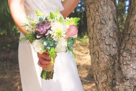 Bouquet para um casamento de Outono