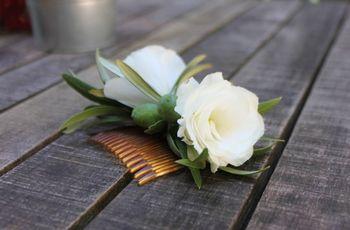 Acessórios românticos para o teu penteado de noiva