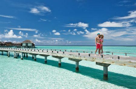 Lua de mel nas Maldivas: romanticismo sem fim!