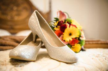 Noiva cómoda e deslumbrante: alternativas aos sapatos altos