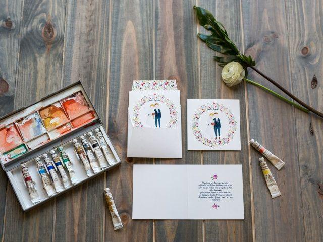 Convites com aquarela: 5 ideias para surpreender